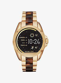 Michael Kors acceso Bradshaw dorado del SmartWatch y acetato de Michael Kors   relojes  michaelkors  reloj  peru 8604877ecc