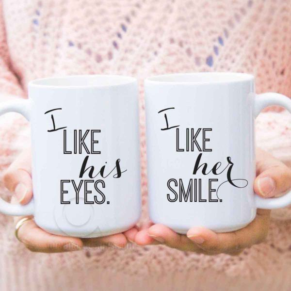 funny couple mugs