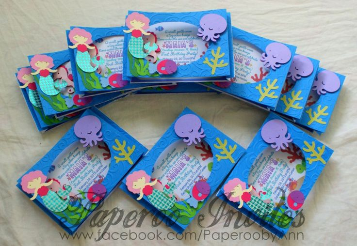 51 best Under The Sea Baby Shower Invitations images on Pinterest