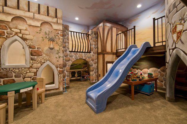 Mediterranean Style Kids Bedroom