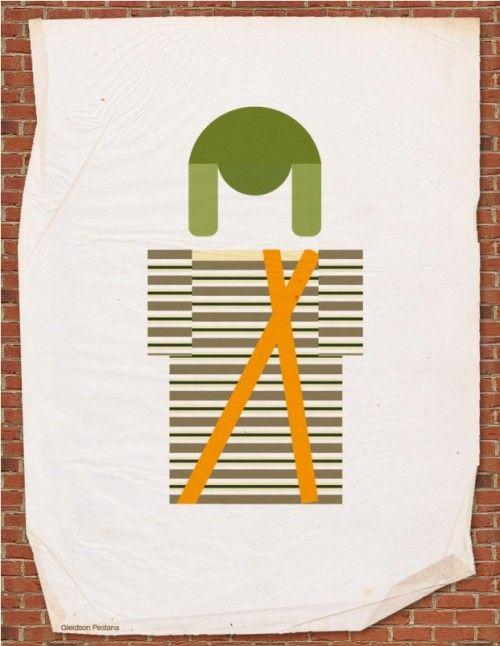 Posters do Chaves em versão Minimalistas | Criatives | Blog Design, Inspirações, Tutoriais, Web Design