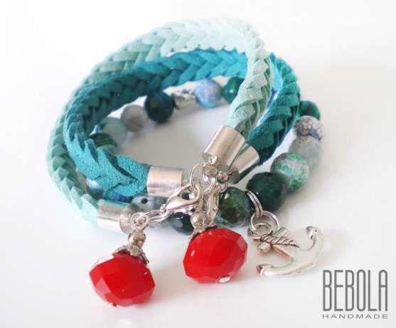 28 zł: Komplet bransoletek  Zapraszam na FB: BEBOLA handmade