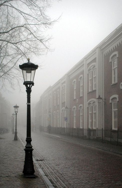 Utrecht in the mist