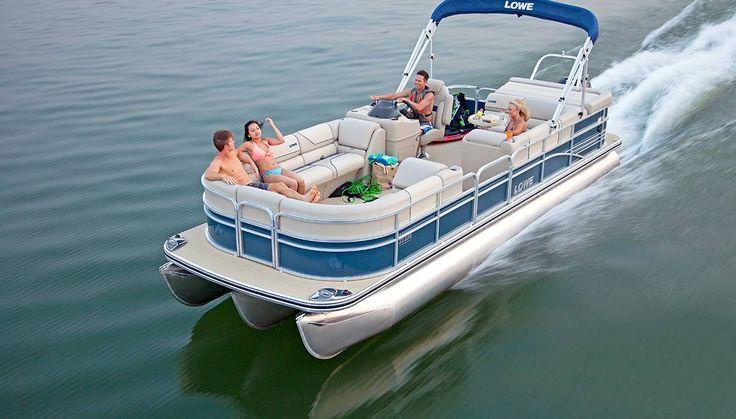 Lowe® SS 250 Super Sport Pontoon Boat