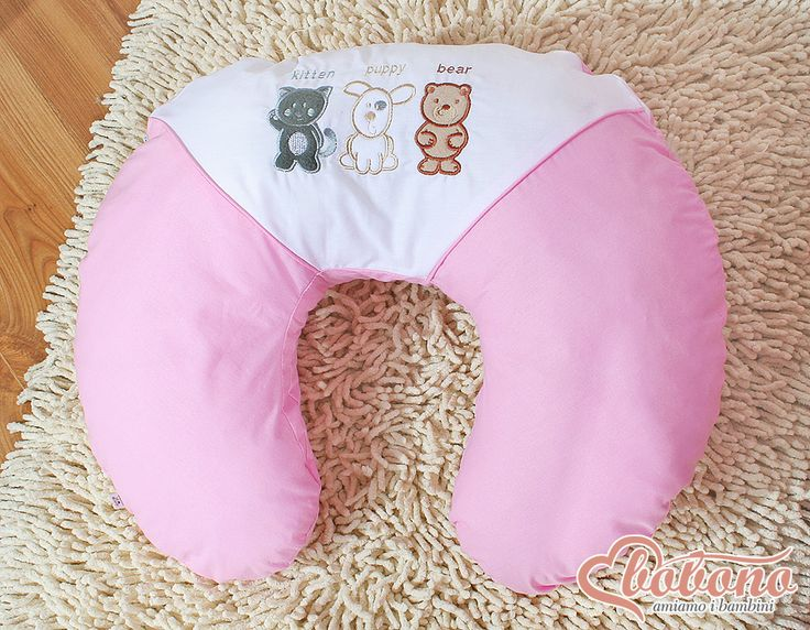 Pink maternity pillow / Bobono