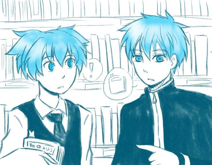 Nagisa and Kuroko--Assassination classroom and Kuroko no basket