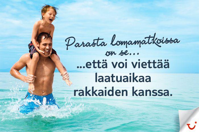 Laatuaikaa:  http://www.finnmatkat.fi/ hashtag#finnmatkat