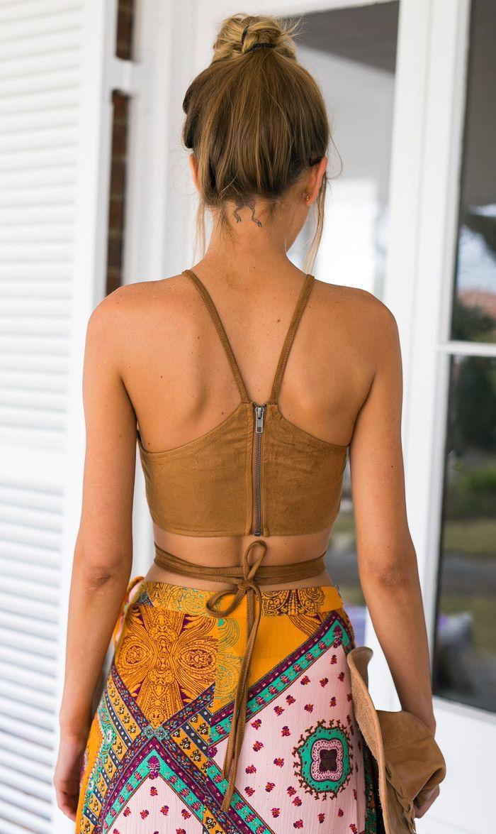 2015 Sexy Bustier culturas regata camurça tiras camisola bandagem apertada Cropped Tops Vest tanques Camis para mulheres tanques em Regatas de Roupas e Acessórios no AliExpress.com   Alibaba Group