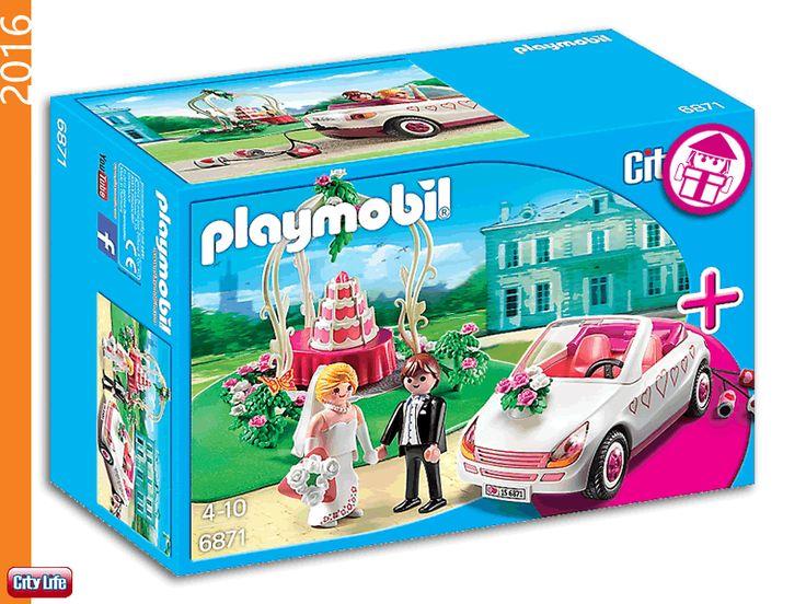 PLAYMOBIL 6871 Starter Set - Wedding