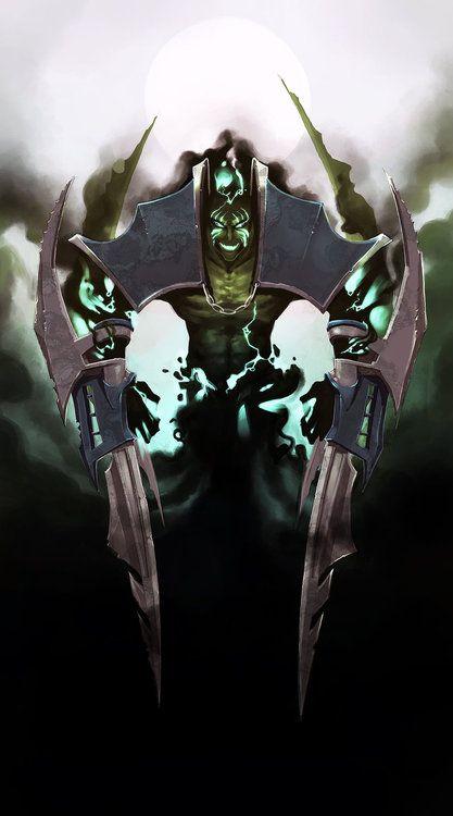 League Of Legends - Nocturne by *Anarki3000