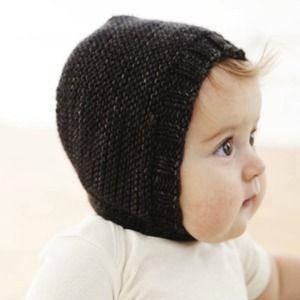 Merino Wool Baby Bonnet - Too Cute!