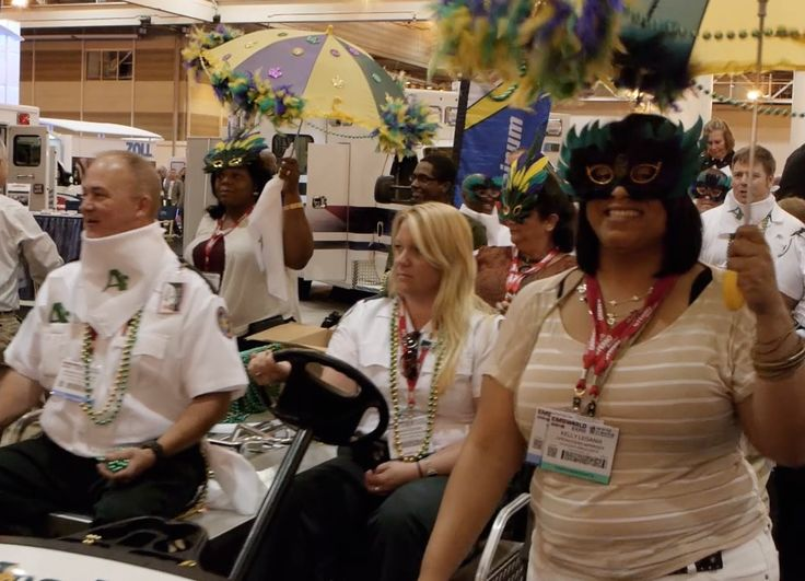 Jamie Davis, the Podmedic and Chris Montera, the Geekymedic share their thoughts of the beginning of the first day at EMS World Expo 2012 in New Orleans, Louisiana. Check out the footage of the parade to open the show including the jazz band the lead the procession.