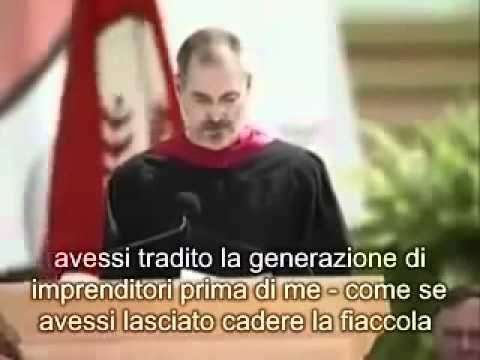 Discorso di Steve Jobs ai neolaureati di Stanford - Sottotitoli in italiano