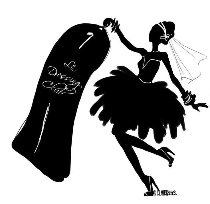 silhouette mariée - Recherche Google