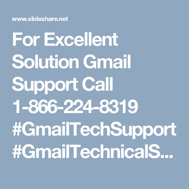 For Excellent Solution Gmail Support Call 1-866-224-8319 #GmailTechSupport #GmailTechnicalSupport #GmailTechsupportNumber With a target to assist as numerous customers as possible, Monk-tech techies come up with a plenty of services to facilitate the customers to prefer an option as per their needs and requirements. For immediate treatment of the Gmail Problems, our team provides three easy channels including remote support, live chat, and the Gmail Support Phone Number 1-866-224-8319. All…