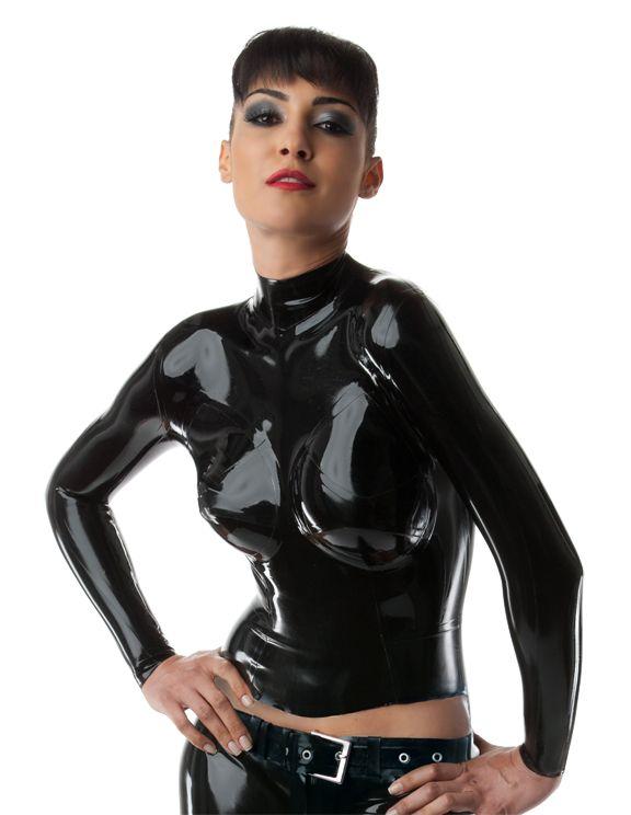 leather bondage latex dress