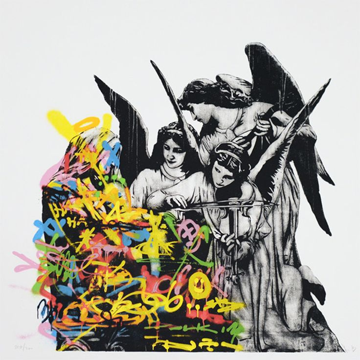 Angels by DOLK is a Signed Limited Edition Print. All Epoch Art Gallery prints include FREE UK delivery.