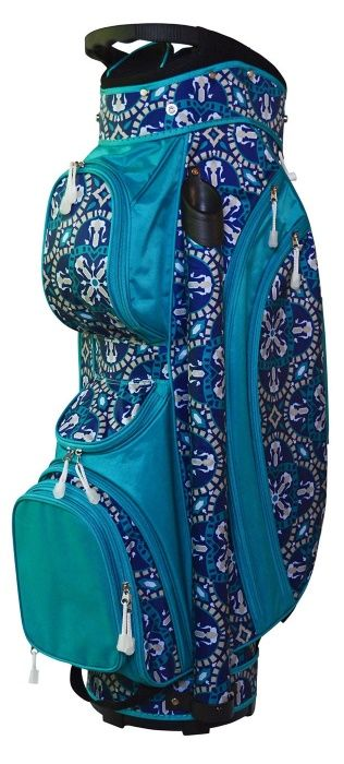 Artisan Tile All for Color Ladies Golf Cart Bag now at one of the top shops for ladies golf accessories #lorisgolfshoppe
