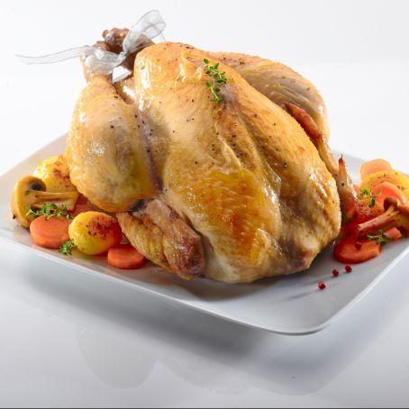 Cappone arrostito al forno http://www.tribugolosa.com/ricetta-435-cappone-arrostito-al-forno.htm