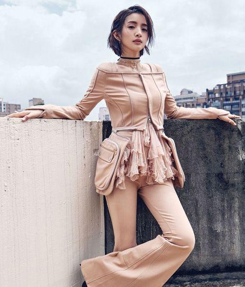 Actress Ariel Lin poses for fashion magazine