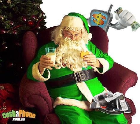 santa going green