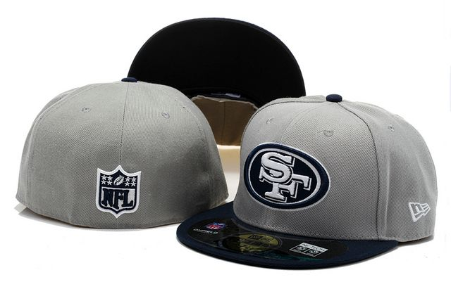 153cf8a2ed New Era NFL Topp d Up Denim 59FIFTY Cap And Hats San Francisco 49ers Fitted