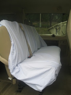 For Him and My Family: DIY Seat Covers for your Van Vehicle