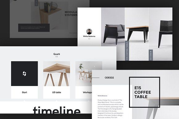 Quark | Special Keynote Template by @GoaShape #GraphicDesign #Marketing #Trending #inspiration