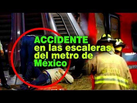 Prevenir Accidentes en las escaleras eléctricas del Metro de México - YouTube …