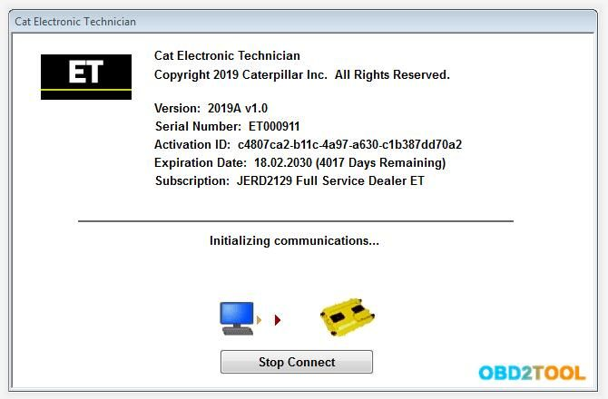 1 Latest Caterpillar Et Software To Work With Cat Cat3 Truck Scanner 2 With One Free Activation Can Send Software On Electronic Technician Activities Software