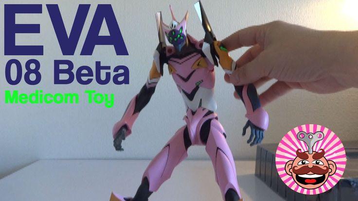 Medicom Toy RAH Evangelion EVA Unit 08 Beta Figure REVIEW - Monsieur Toys