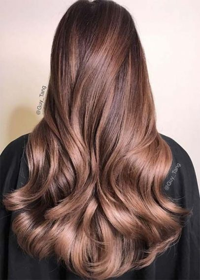 средние цвета красок для волос