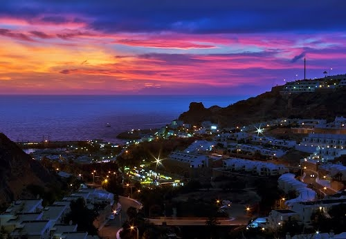 Puerto+Rico+Sunset | Panoramio - Photo of Sunset in Puerto Rico, Gran Canaria