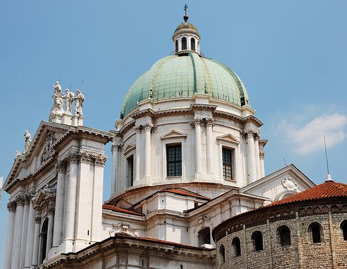 New and Old Cathedral, Brescia, Italy