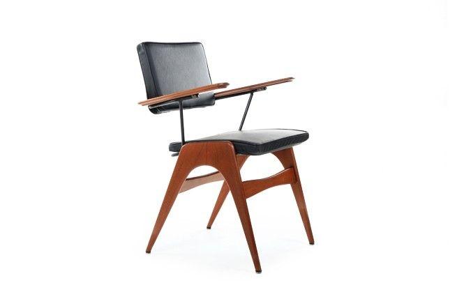Fred Lowen 'Executive Chair' - Mr. Bigglesworthy Designer Vintage Furniture Gallery