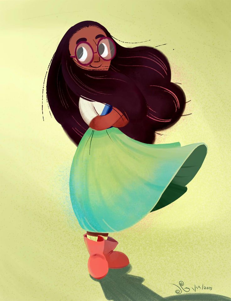 "jazzedoodles: "" Some Steven Universe fanart with Connie. I have a soft spot for nerdy girls characters. """