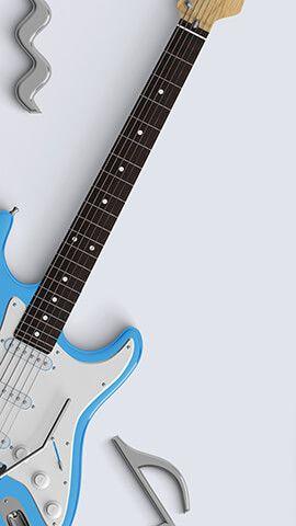 Musical Guitar Backgroundslockscreens Pinterest Wallpaper