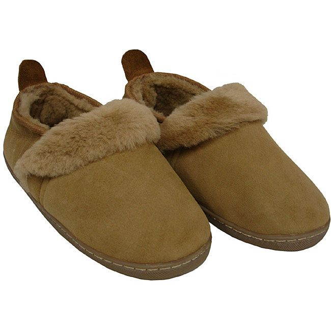 Amerileather Shearling Outdoor Travel Slippers