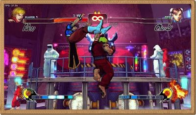 Street Fighter 4 Games Screenshots