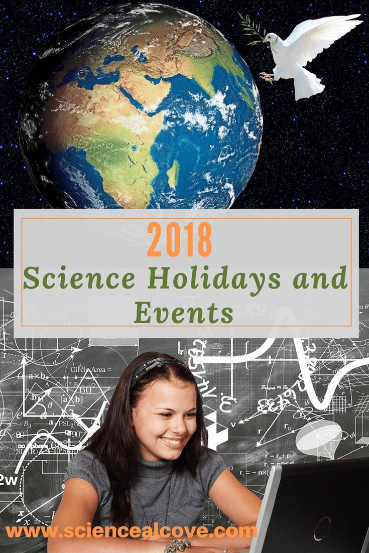 Wouldn't it be nice to have a ready-made list of monthly science holidays and events to plan your science curriculum. You'd be surprised how many science holidays and events have been organized. Some are pure fun while others embrace some pretty important concepts. Why not join Science Alcove and get your hands on a comprehensive list of science holidays? #scienceholidays #affiliatelinks #piday #earthday