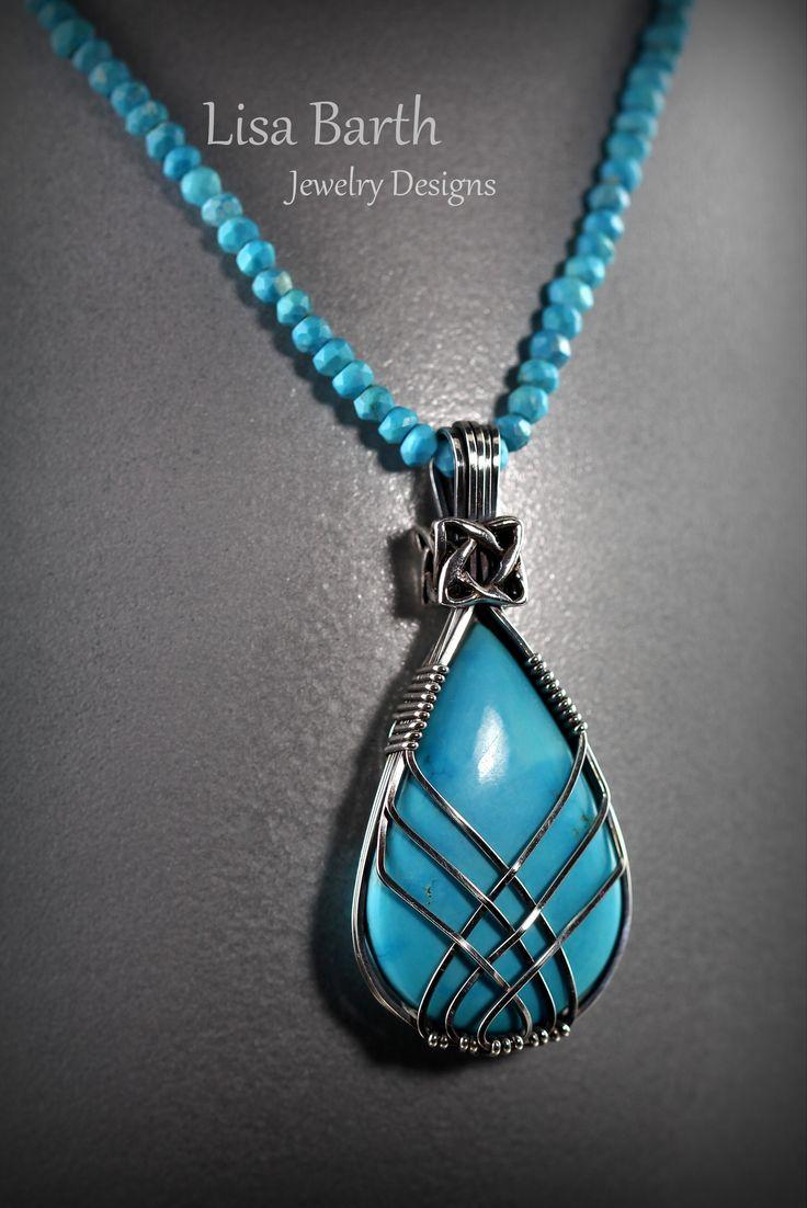 97 best _Jewelry-tear drop wire wrap images on Pinterest | Wire ...