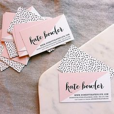 How beautiful are these business cards?