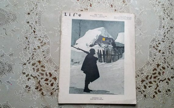 Life Magazine December 26 1918 Louis Fleming by GladStoneatHome