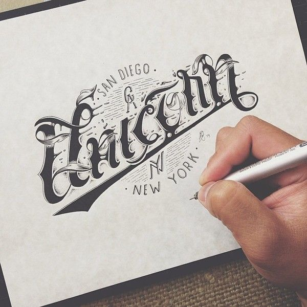 Hand Type by Raul Alejandro