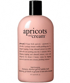 Philosophy - apricots and cream: Just sweet enough