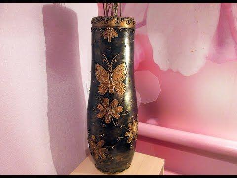 Из этого короткого видео вы узнаете, как сделать вазу из пластиковой бутылки своими руками. Все очень просто и займет не много времени. Для изготовления вазы...