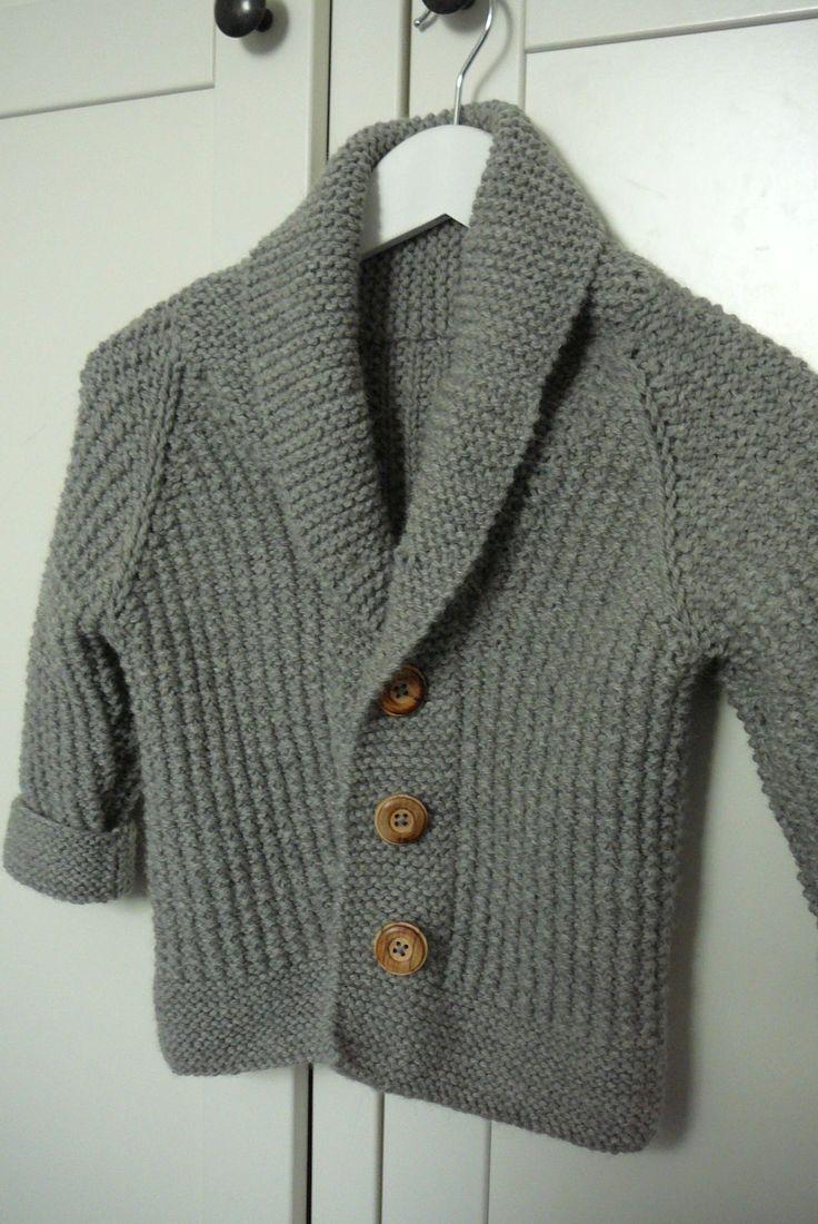 tricoter un gilet taille 6 ans