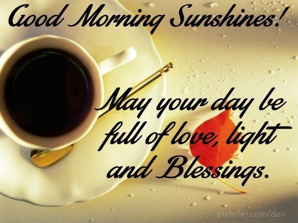 Good Morning Sunshines! coffee morning good morning good morning greeting good morning friends good morning quote