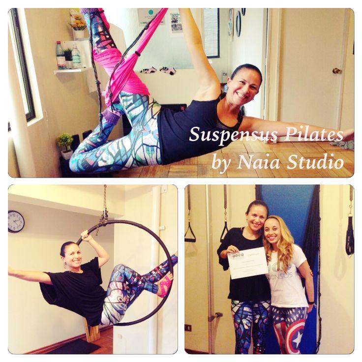 Certificación SUSPENSUS Pilates en Suspensión!!! Pronto clases en NAIA Studio.