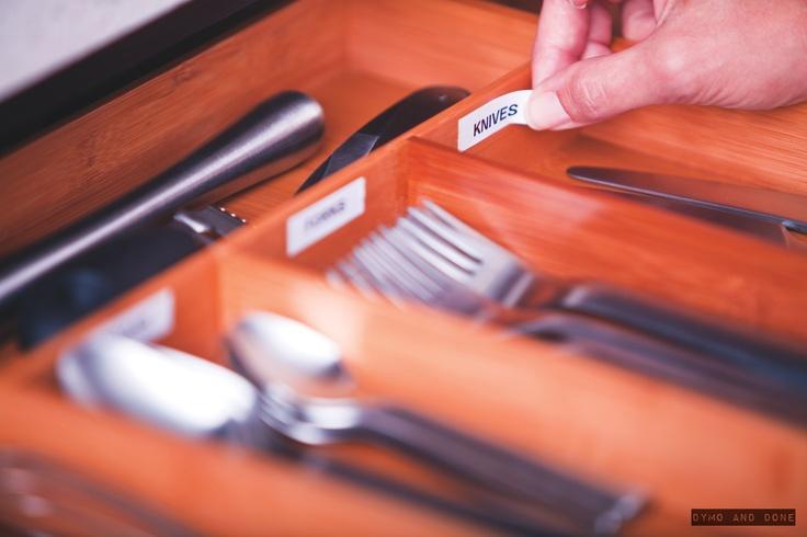 Dymo cutlery clarity